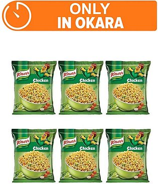 Knorr Noodles Chiken pack of 6 (One day delivery in Okara)
