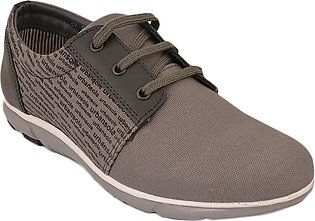 Urban Sole Grey Canvas Shoes  Winter Collection - CV-8101