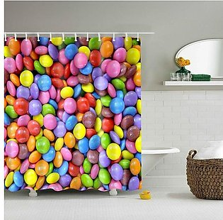 Shower curtain colorful series 180*180cm#Color 4