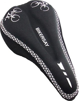 Biekrsay Bicycle Seat Cover Mountain Bike Seat Cushion Silicone Thick Soft Road…