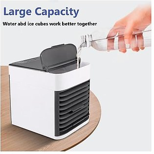 【Best Discounts】Mini Portable Air Conditioner Humidifier Purifier Arctic Air Cooler Cooling Fan For Home Office USB