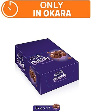 Dairy Milk Bubbly 87g (One Day Delivery in Okara)
