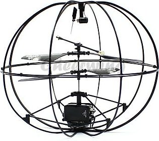 Robotic UFO 3 Channel I/R Flying Ball Remote Control Helicopter