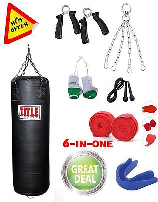 punching bag car key chain jump rope hand grips hand wraps bandages deal