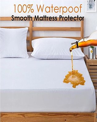 Premium Waterproof Double Bed Mattress Protector Sheet 72X78