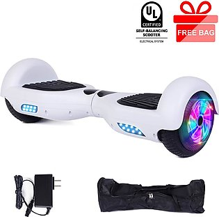 Hoverboard with LED Lights Electric Scooter for Adult Kids Gift