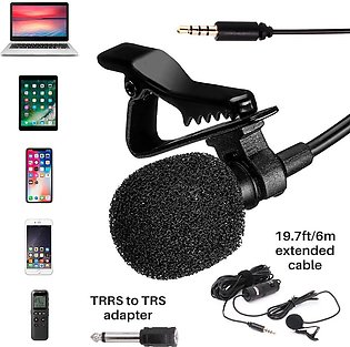 Professional Original Boya Recording Mic M1 Lavalier Collar Microphone for Ca...