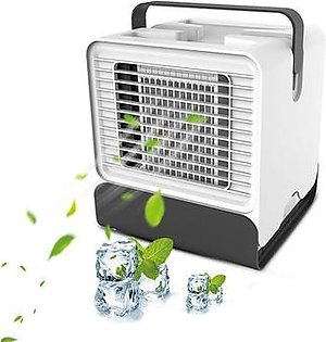 Personal Evaporative Air Cooler -3 in 1 USB Humidifier/Portable Air Conditioner and Fan