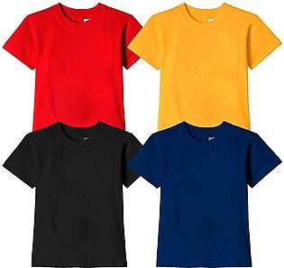 Pack of 4 T Shirts for Men Night Wear and Lounge Wear