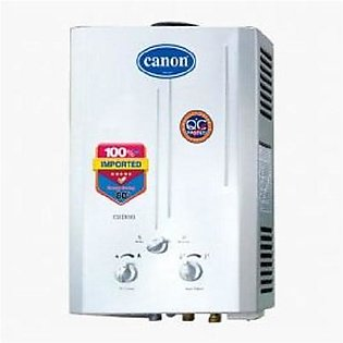 Canon Instant Geyser natural Gas Model CA-600 - 6 liter - White