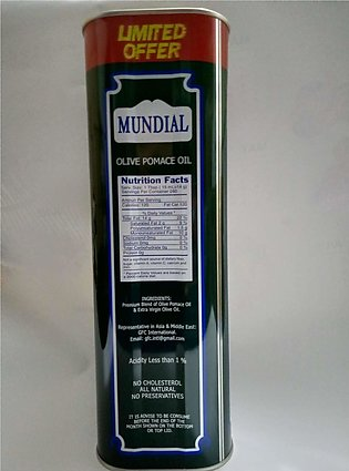 Mundial olive pomace oil promotion pack