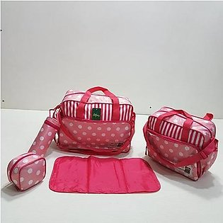 Imported-Special Multi-Functional 5 Pieces Large Capacity Baby Diaper Bag In Ne…