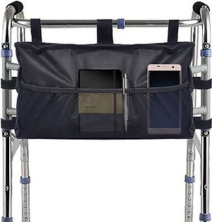 Walker Bag, High Quality Folding Walker Bag Organizer Pouch Tote for Any Walker Style Rollator and Wheelchair, Machine Washable