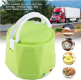 24V 140W 1.6 L Electric Portable Multifunctional Rice Cooker Food Steamer for Truck