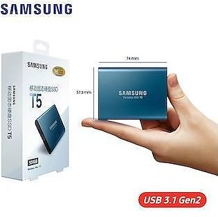 Original  T5 External SSD USB3.1 Gen2 (10Gbps)  1TB Hard Drive External Solid State  Drives for Laptop tablet.Made In Korea