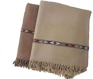 Pack of 2 Pure woolen shawls(chaddar) for men