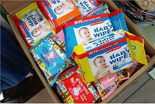 BULKY DEAL PACK OF 24  Power Camera Baby Wipes 80 PEC
