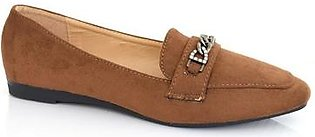 Hush Puppies - SS-MS-0014 - Brown Closed Formal for Women