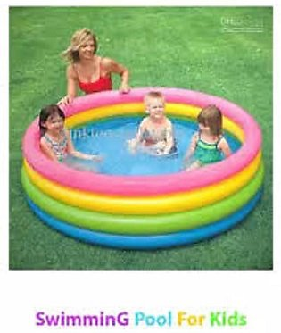 Intex Swimming Pool For Kids 4 fit - Multicolor