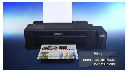 Epson L310 Ink Tank Printer - Black