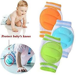 Protect Your Baby Knee; Baby Safety Anti-slip Elbow Protector Crawling Knee P...