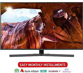 Samsung 50 inch UHD 4K Flat Smart TV - RU7400