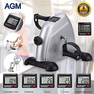 Portable Mini Cycle Exercise Pedal Bicycle Machine for Equipment Gym Fitness ...
