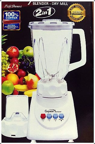 National's 2in1 Blender & Dry Mill