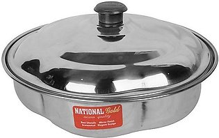 Stainless Steel Roti Box with Lid Style Nagina
