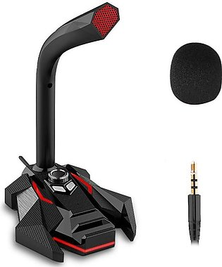 【2 Days Promotion】Portable Gaming Condenser Microphone Computer Microphone Wire…