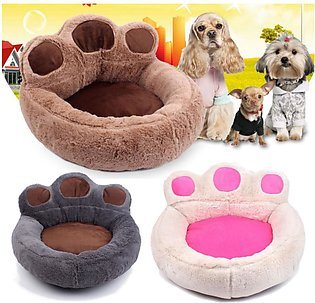 Pet Sofa Dogs Bed Mat Puppy Cats Warm Soft Kennels Cozy Cushion Pads # 73X80cm