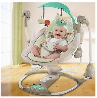 Baby Ingenuity Baby Rocking Chair Electric Cradle Sleeping Artifact Rocking Bed Rocking Chair Recliner Swing