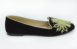 Milli Shoes-Women Fancy Embroidered Pump Art.7917