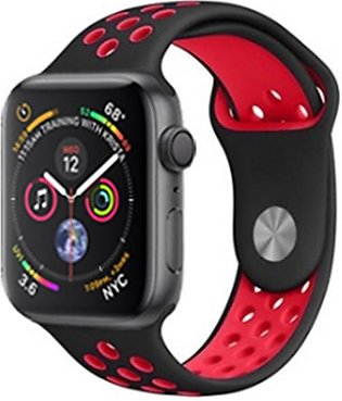 Soft Silicone Strap for Apple Watch Series 3 / 4 Band, iWatch Bands 38mm 40mm 4…