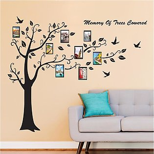 Photo Decals Tree Frame Removable Home Decor Family Mural Art Wall Stickers