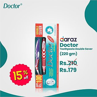 Doctor Toothpaste - Double Saver Pack (220gms)