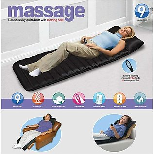 Full Velvet Bed Mattress Body Massager With 9 Motor