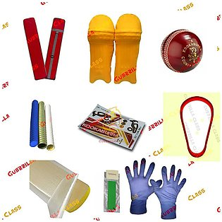 Cricket Box - Cricket Accessories - Worth Rs. 3480 ( Hardball, Bat Bag, Stick...