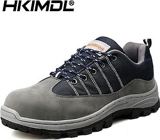 Men's High Quality Work Safety Shoes Breathable Mesh Steel Toe Outdoor Indust...