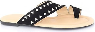 Hush Puppies - SS-SL-0062 - Black Open Slipper for Women