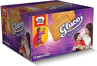 GLUCO - Snack Pack 32.6 gms x12 Pack of 2