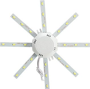 LED 24W Panel Board Ceiling Lamp Chip Light With Transformer And Magnet - intl