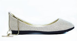 Milli Shoes-Golden Fancy Pumps Art.9478