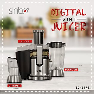 800W Professional High Speed Digital Juicer Whole Fruit Juicer Juicer Extract...