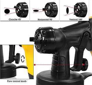 220V 600W Electric Paint Sprayer Machine For Cars Home Wood Furniture Wall Spra…