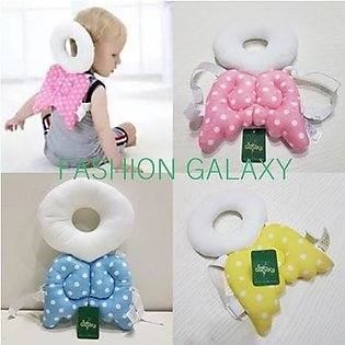 Baby Head Protection Pillow In Pink Color By Fashion Galaxy