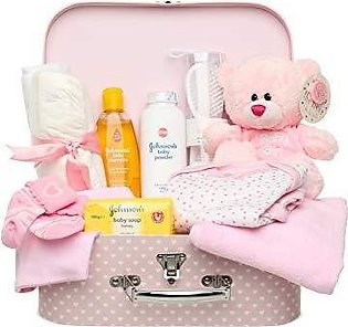 BORN BABY GIFT BOX PACK OF 9 + 1 FREE GIFTS FROM US