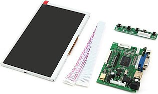 EF 7 Inch TFT LCD Display Module HDMI+VGA+2AV Driver Board for Raspberry Pi