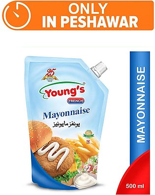 Young's French Mayonnaise 500gm (One Day Delivery in Peshawar)
