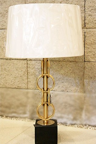 Western Luxe Marble Table Lamp